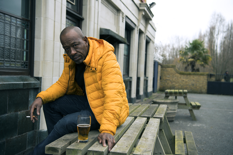 "Lennie James as Nelson ""Nelly"" Rowe"